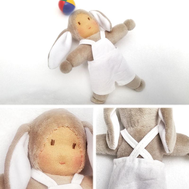 Doudou lapin Coquin