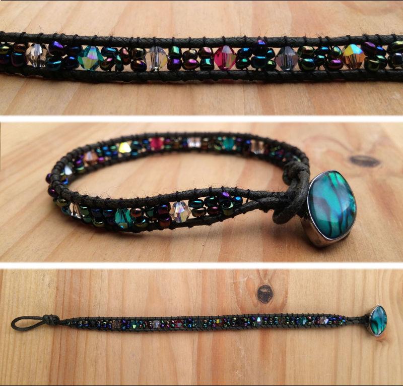 Bracelet en perles de Swarovski 2