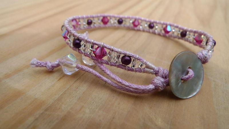 bracelet-fillette-bouton-nacre