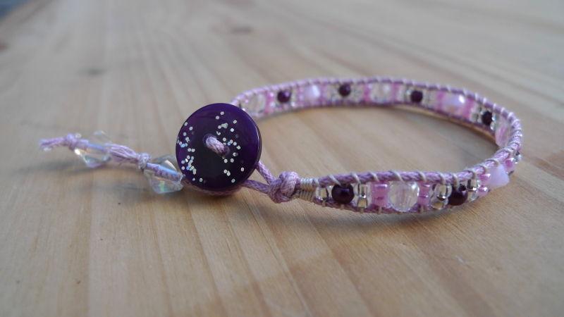 bracelet-wrap-rose-violet