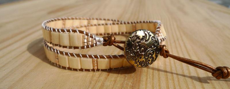 Bracelet-tila-caramel-doré