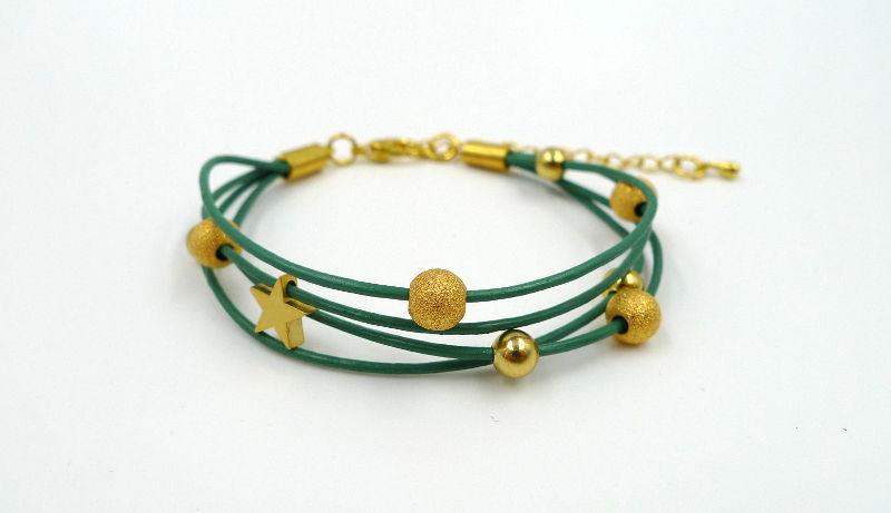 bracelet-cuir-teal-perles-dorees-wp