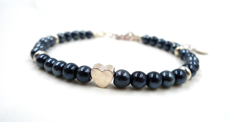 bracelet-anthracite-coeur-argente-wp
