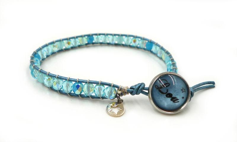 bracelet-wrap-fillette-bleu-etoile